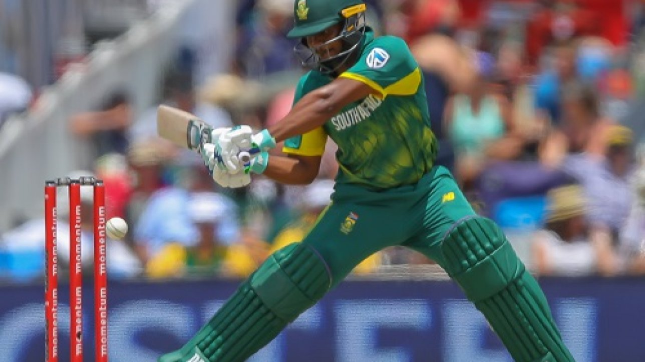 PRETORIA, SOUTH AFRICA - FEBRUARY 04: Khaya Zondo of South Africa batting during the 2nd Momentum ODI match between South Africa and India at SuperSport Park on February 04, 2018 in Pretoria, South Africa. (Photo by Gordon Arons/Gallo Images)